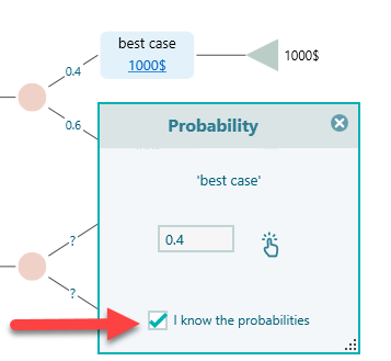 checkbox-for-probability