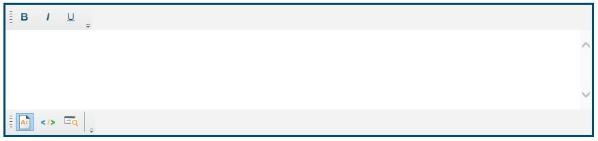 Custom toolbar