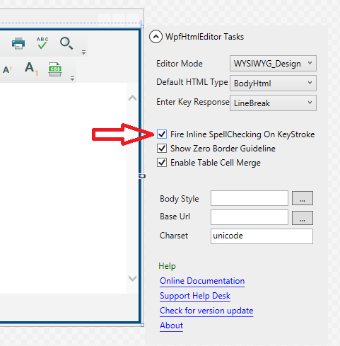 Using and Configuring Spell Checker