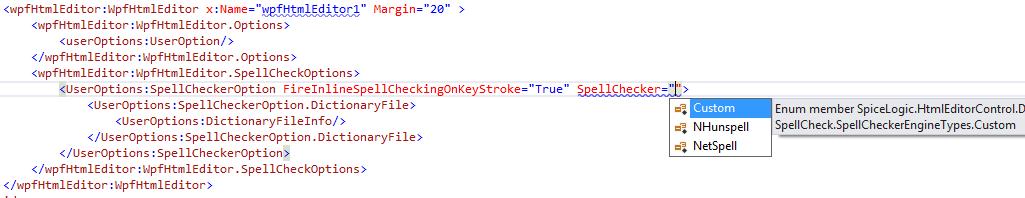Custom spell checker