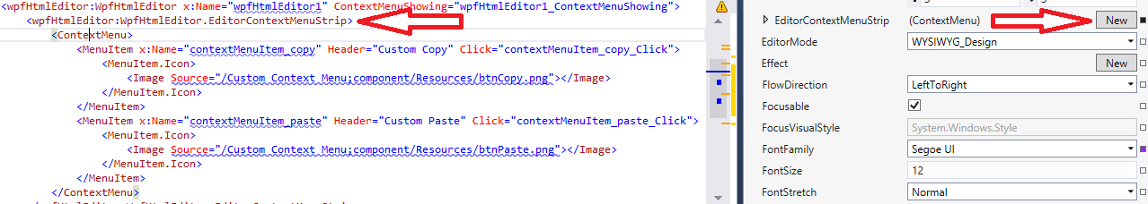 EditorContextMenuStrip property