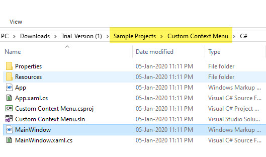 custom-context-menu-folder