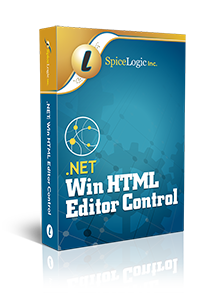 .NET WinForms HTML Editor Control