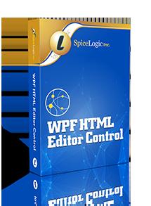 WPF HTML Editor Control